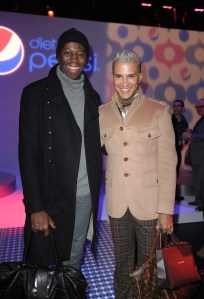 Jay Alexander and Jay Manuel atthe Diet Pepsi Style Studio in NYC 2.9.12